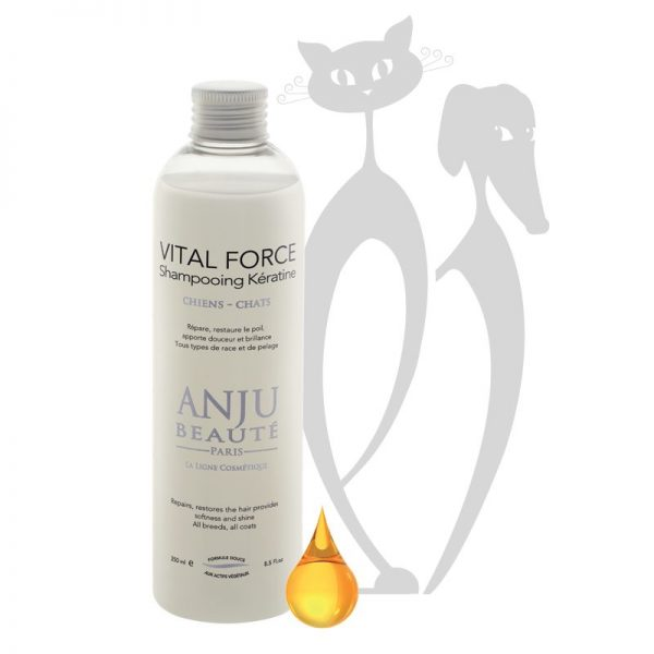 shampoo per cani vital force anju beaute