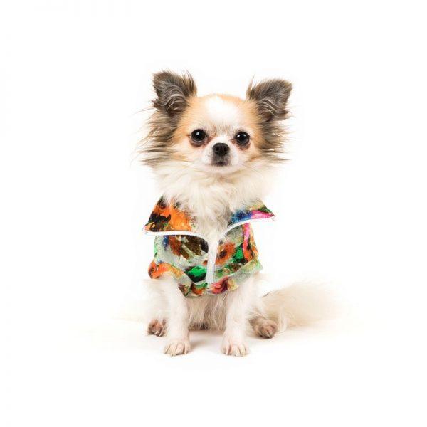 GIROCOLLO FLOREALDREM-felpa leggera I Love My Dog