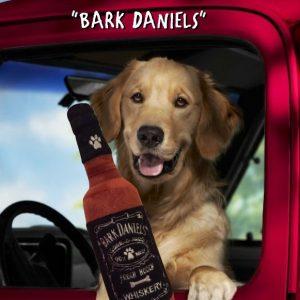 BARK DANIELS WHISKERY-bottiglia peluche