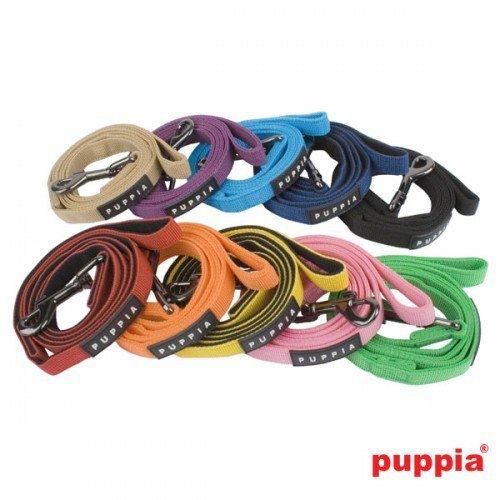 Guinzaglio per cani Puppia Two tone lead in 10 colori