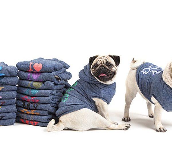 felpa per cani invernale sweatshirt i love my dog