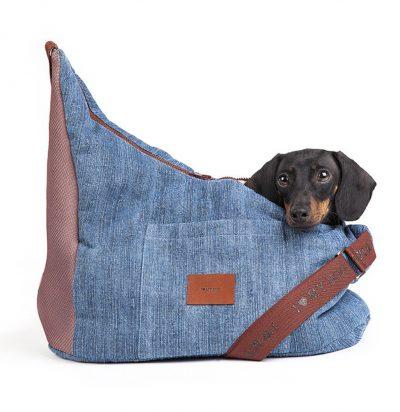 borsa per cani a tracolla