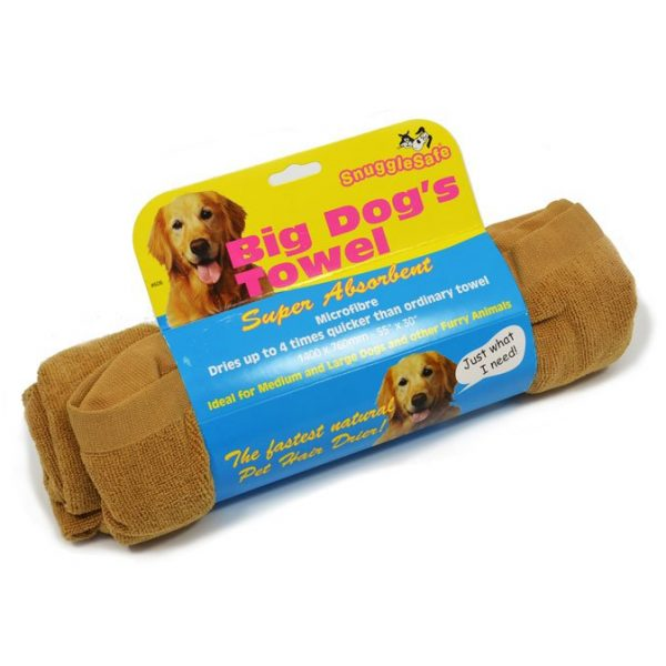 asciugamano per cani
