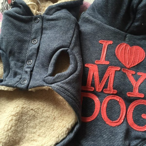 SWEATSHIRT DENIM felpa I love My Dog