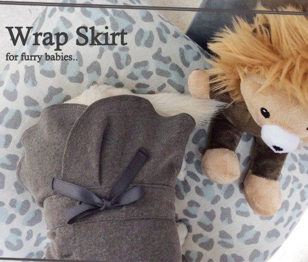 WRAP SKIRT-vestito Louisdog