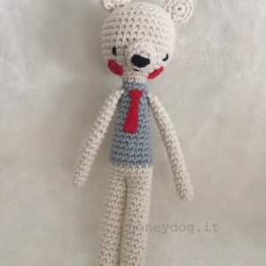MISTER JAMES-orsetto amigurumi