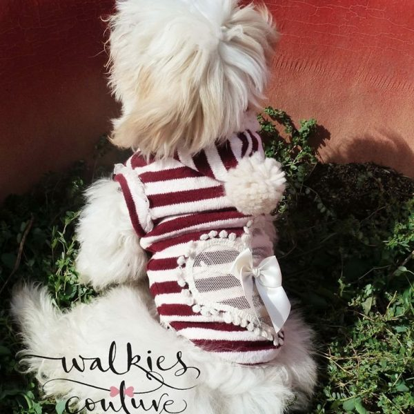 HOLY TIME-maglioncino natalizio Walkies Couture