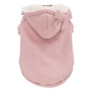 Felpa per cani rosa con cappuccio Monchouchou Hoodie