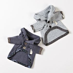 Maglia per cani Organic Button Jacket Polo Louisdog