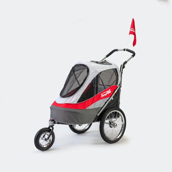 rimorchio bici cani innopet sporty trailer deluxe