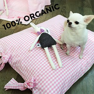 ORGANIC PINK CUSHION cuscinone LOUISDOG