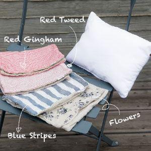Linen Pillow Louisdog cuscino sfoderabile per cuccia