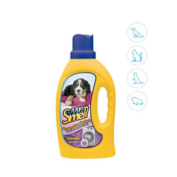 Detersivo lavatrice per animali domestici mr smell