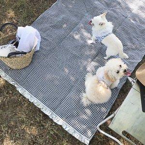 Tappeto da Picnic - Louisdog Picnic Mat in cotone e lino