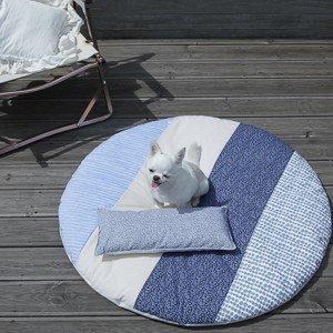 Tappeto per cani Louisdog - capri rug tondo area gioco