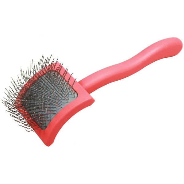 Cardatore per cani Chris Christensen Baby G Coral Slicker Brush