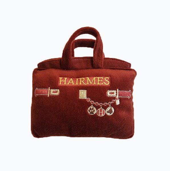 Peluche per cani Hermès - parodia Borsa Birkin - Dog Diggin Design