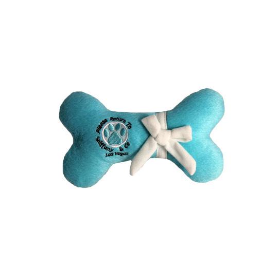 Osso di peluche tiffany gioco per cani Sniffany Bone Dog Diggin designs