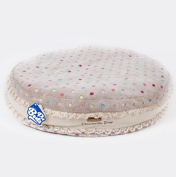 cuscino morbido ferribiella macaron beige per cani e gatti