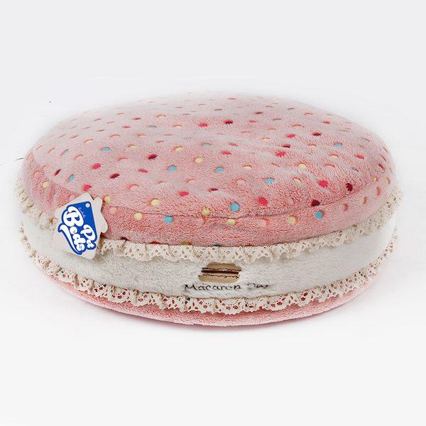 cuscino morbido ferribiella macaron rosa per cani e gatti