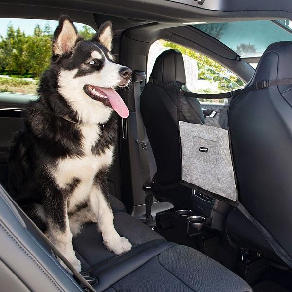 Divisorio auto per cani - barriera tra sedile anteriore e posteriore zippy paws car front seat barrier