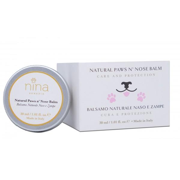 Balsamo per cuscinetti cani e naso natural paw nina venezia