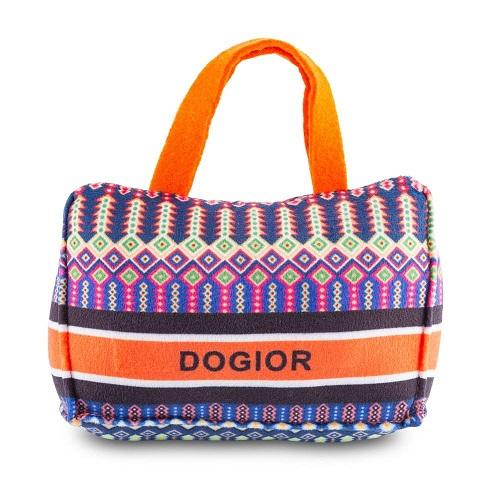 Peluche per cani Dior - parodia Borsa Book Tote - Haute Diggity Dog