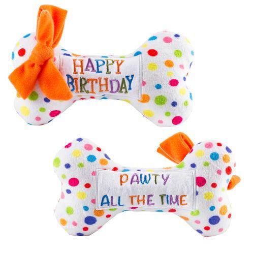 Osso di peluche per compleanno cani Haute Diggity Dog