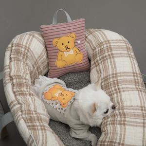 honey bear pillow cuscino louisdog