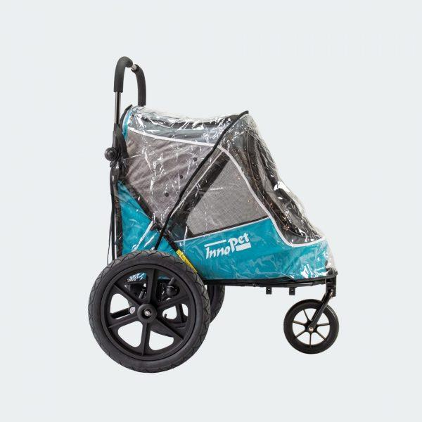 dog stroller innopet sporty evolution bike trainer raincover